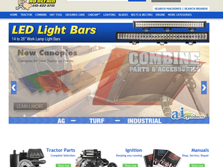 Online Parts Ordering Now Available