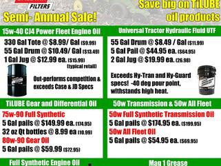TiLube Fall Sale!