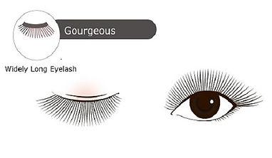 Eyelash Extenison Design Gourgeous