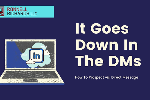 How To Sell and Prospect Using LinkedIn Messenger