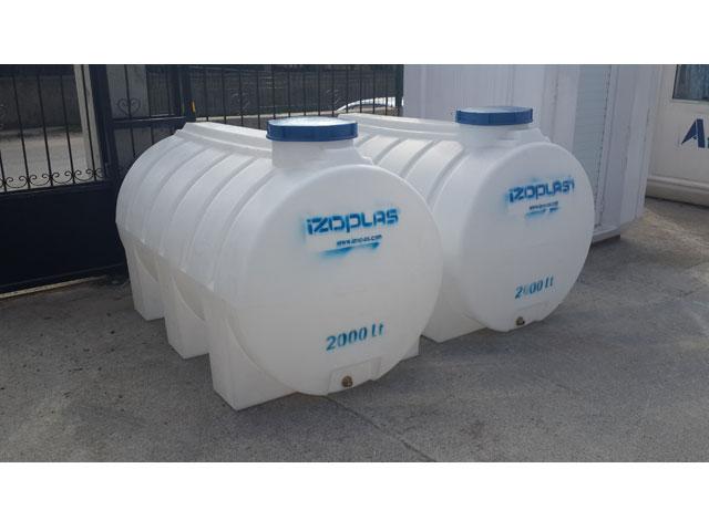 2-Ton-Polietilen-Su-Deposu