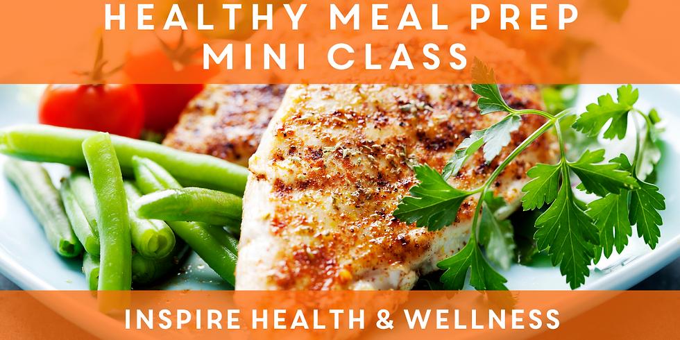 Mini Meal Prep Class (Edward Jones)