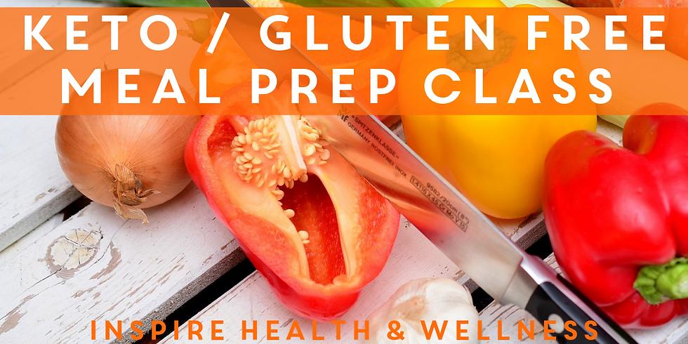 Keto/Gluten Free Meal Prep Class
