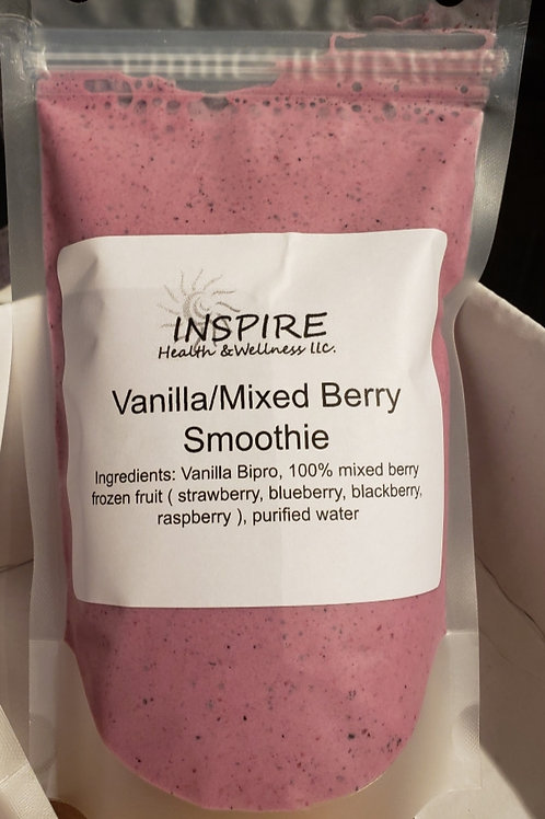 Vanilla/Mixed Berry Smoothie