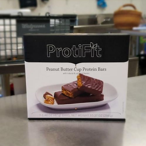Peanut Butter Cup Protein Bars | Proti Diet