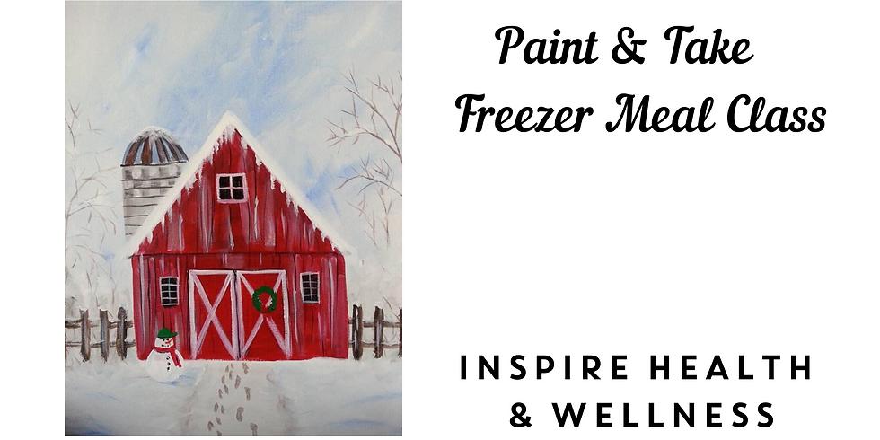 Paint & Take + Freezer Meal Class