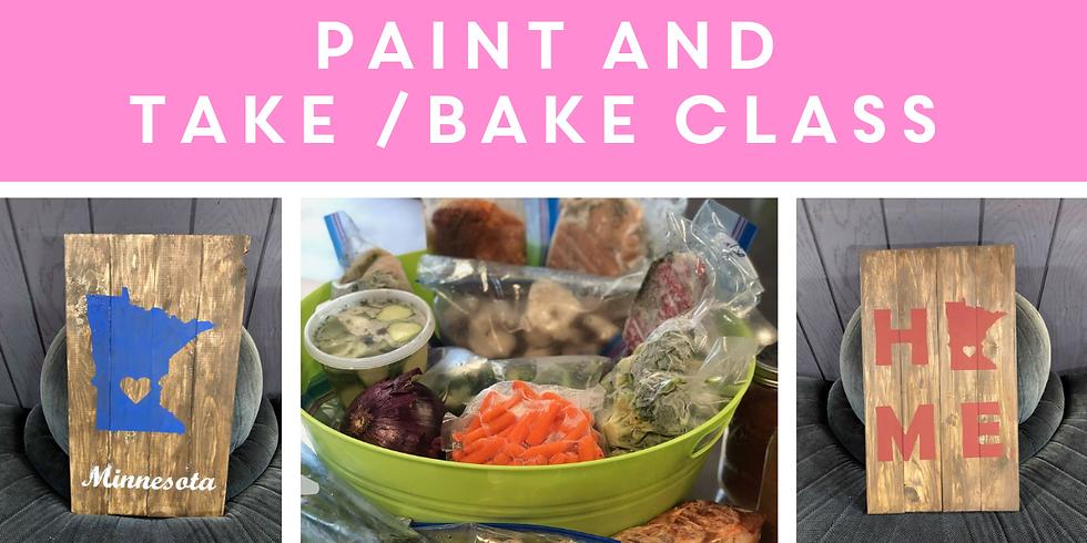 Paint / Take & Bake Class