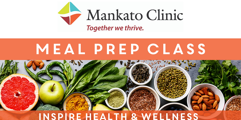 Mankato Clinic Meal Prep Class Nov 5