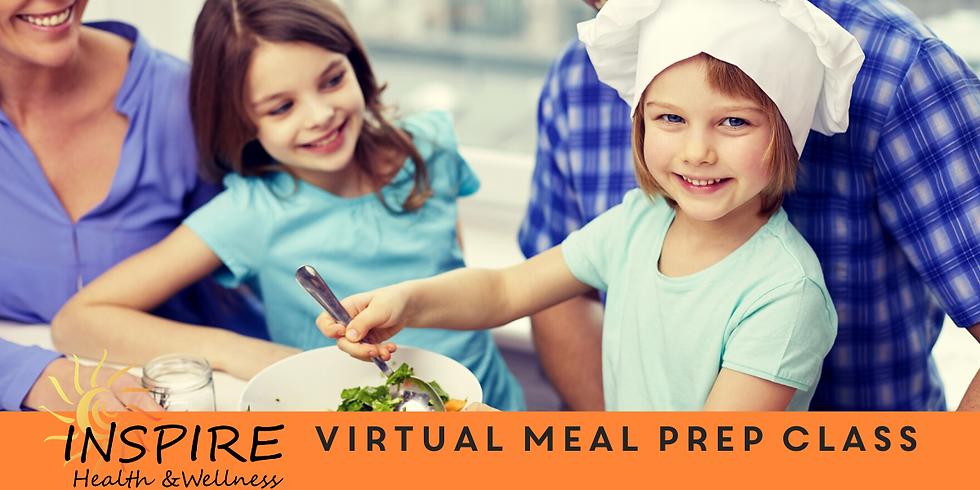 Virtual Meal Prep Class
