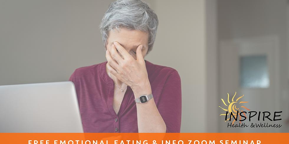 Free Emotional Eating & Info   Zoom Seminar