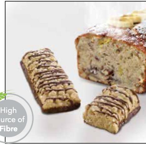 Banana Bread Breakfast Bar | Proti Diet