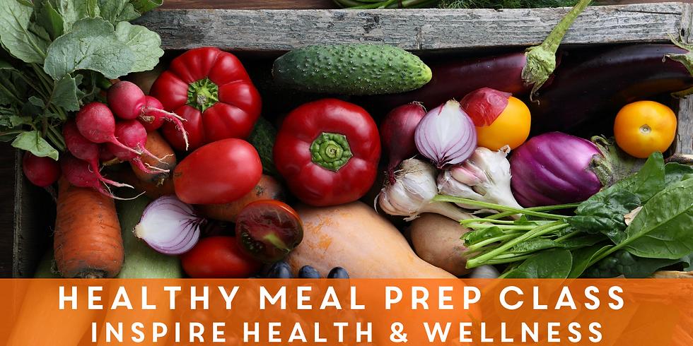 Healthy Meal Prep Class