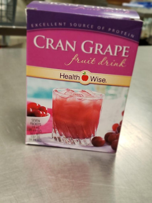 Cran Grape Fruit Protein Drink Mix