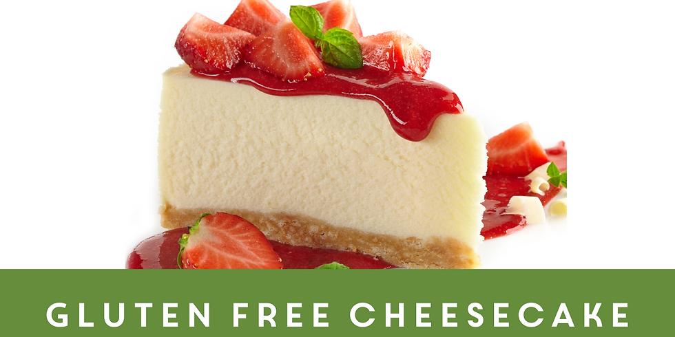 Gluten Free Homemade Cheesecake
