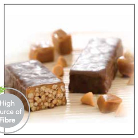 Peanut Butter & Smooth Caramel Crisp   Proti Diet