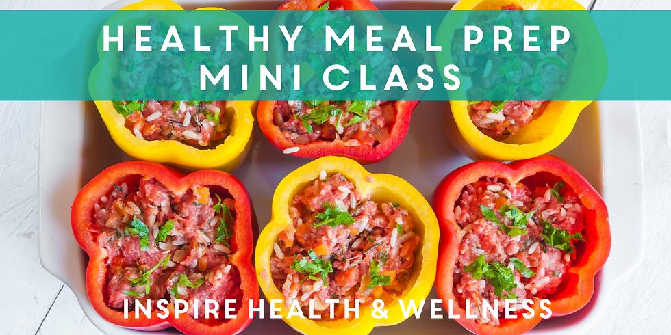 Mini Meal Prep Class