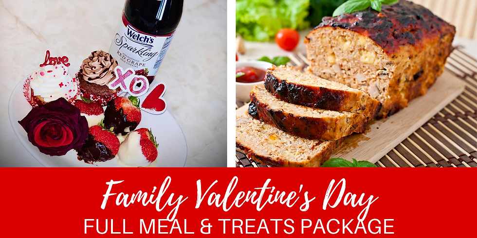 Valentine's Family Full Meal Package