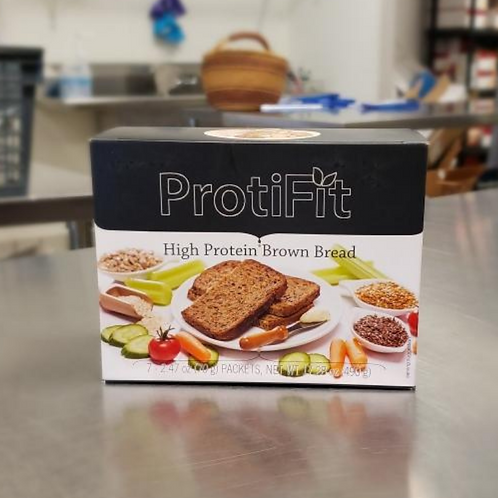 High Protein Brown Bread | Proti Diet