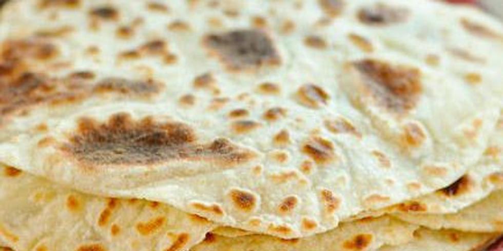Homemade Lefsa