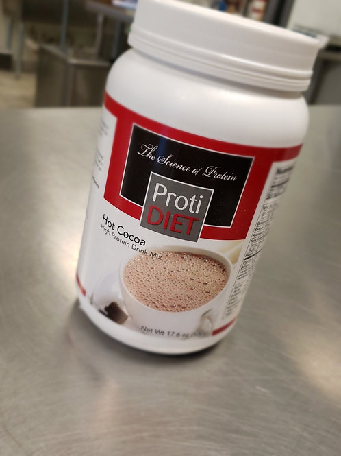 High Protein Hot Cocoa Mix | Proti Diet