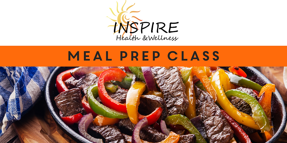 Healthy Meal Prep Class (Hosted by Ashley Bullerman)
