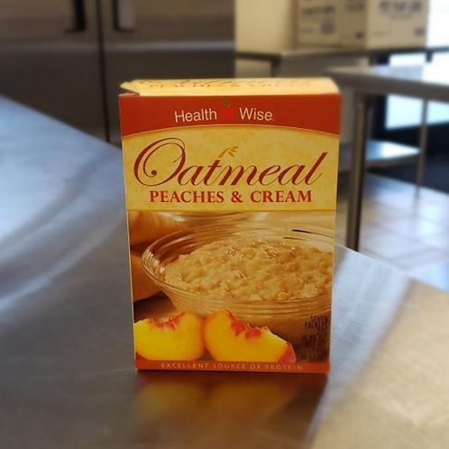 Peaches & Cream Oatmeal | Health Wise
