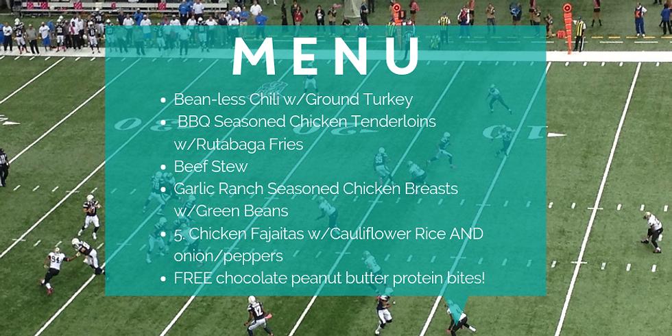 Super Bowl Meal Prep Class
