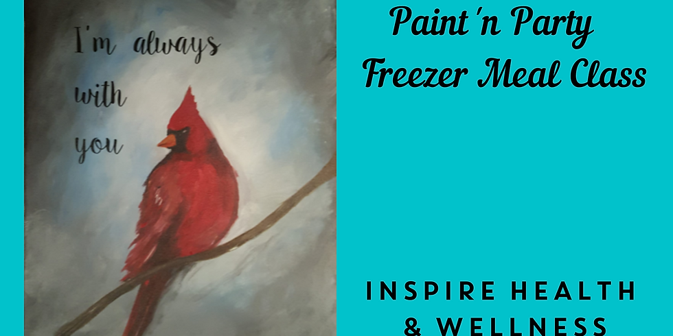 Paint'n Party + Freezer Meal Class