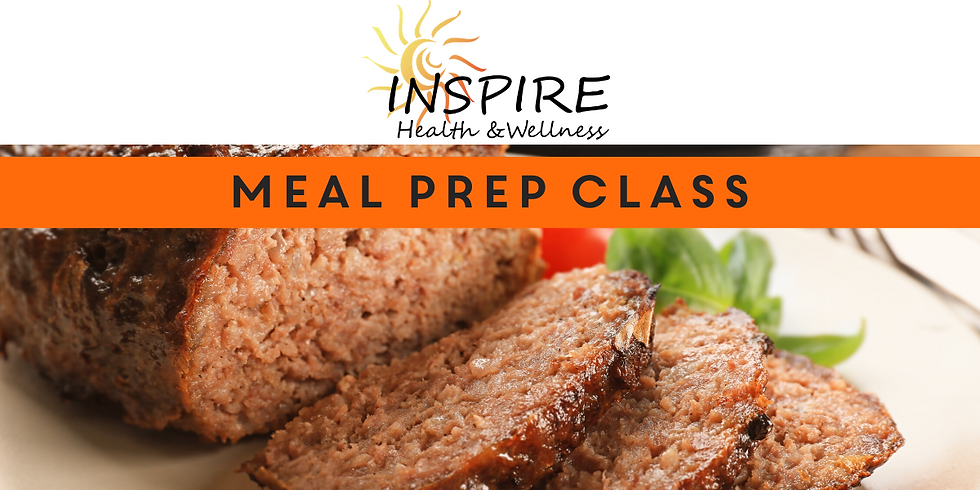 Healthy Meal Prep Class (Hosted by Wendy Palmer)