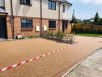 Completed Resin Bonded Driveway