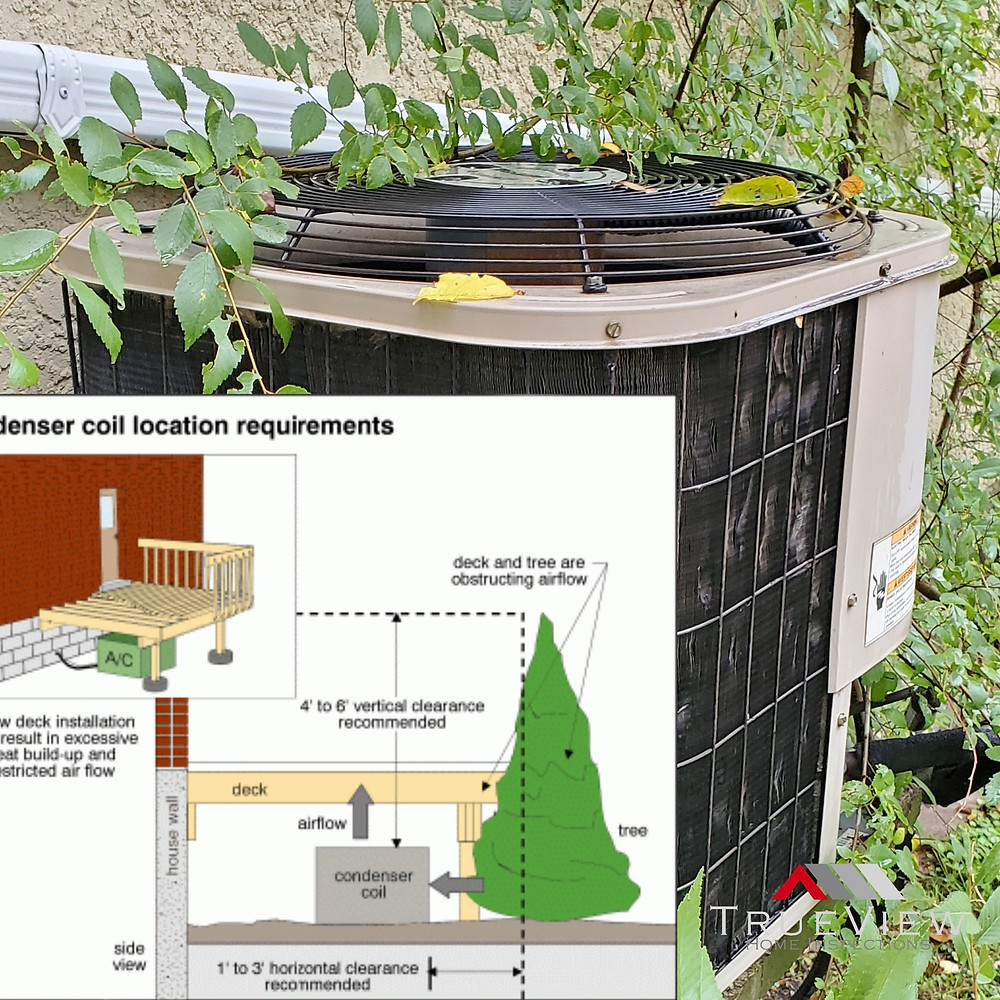 Air conditioning clearance