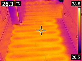 Thermal Imaging- Infloor heat