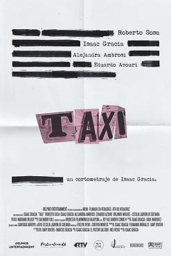 73.- TAXI - Cortometraje - Productor Aso