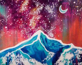 Lone Peak Milky Way