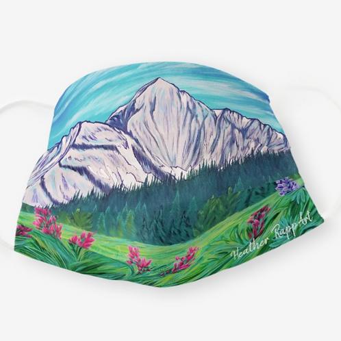 Beehive Wildflowers Mask