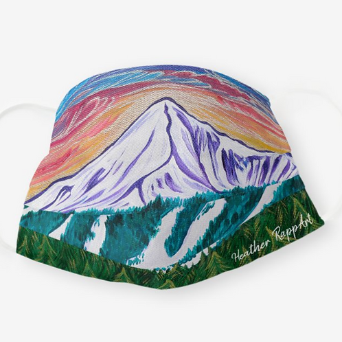 Lone Peak Sunset Mask