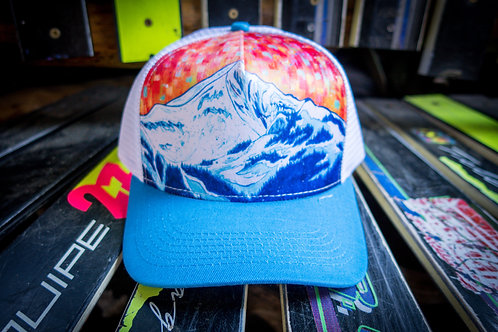 Lone Peak Fractal Hats