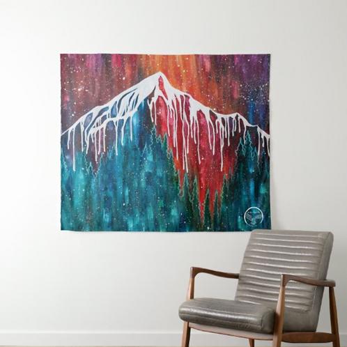 Lone Peak Drip Tapestry