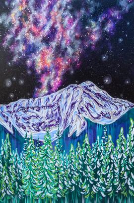 Moonlight Milky Way