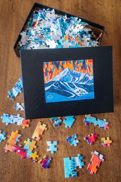 Lone Peak Puzzle