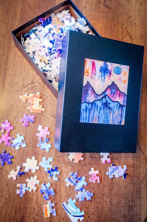 Mountain Moon Puzzle