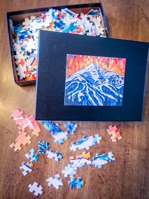Lone Peak Fractal 2 Puzzle