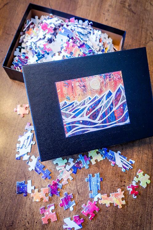 Mountain Magic Puzzle