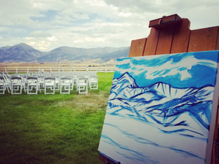 Wedding Live Painting