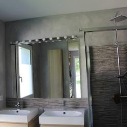 stuc salle de bain