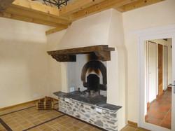 cheminée stuc
