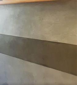 beton cire deux couleurs