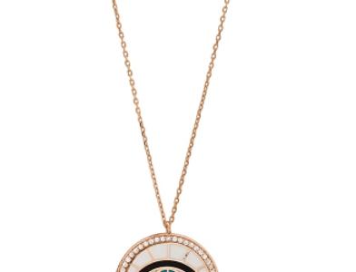 Deco Eye Necklace