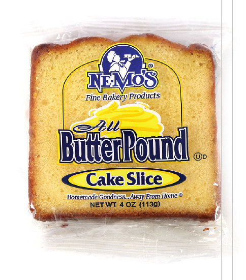All Butter Pound Cake Slice (4oz)