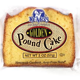 Golden Pound Cake Slice (2oz)